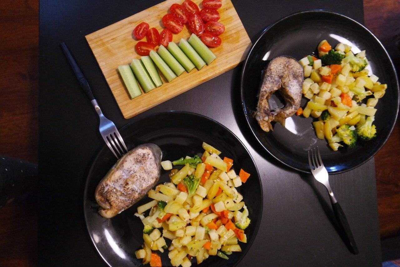 Поздний прием пищи должен быть малокалориен