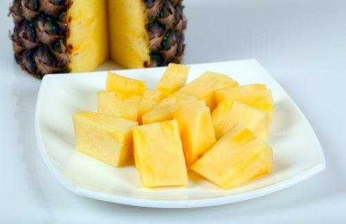 Низкокалорийные рецепты из ананаса