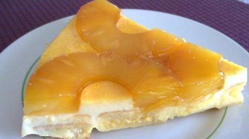 Пирог с ананасом