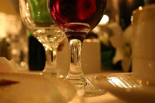 Один бокал вина
