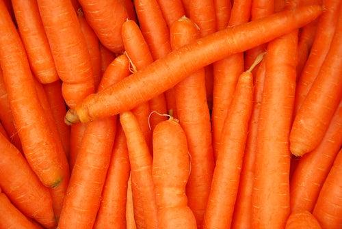 морковь и загар