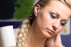 грустная-женщина