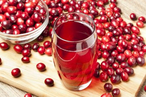 Клюквенный сок помогает очистить мочевой пузырь