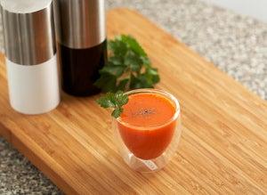 Морковный сок помогает очистить мочевой пузырь