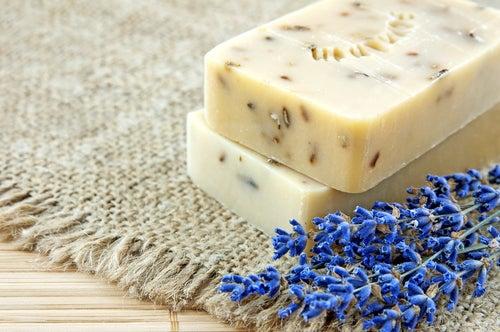 Как изготовить дома лавандовое мыло