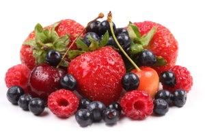 красные-фрукты