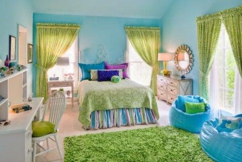 спальня-цвета