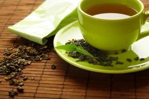 зеленый чай, чтобы не Заедать стресс