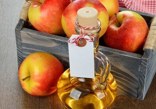 Кондиционер для волос на основе яблочного уксуса