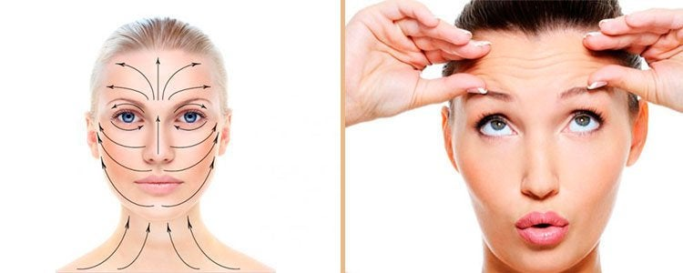 Техника проведения массажа для лица