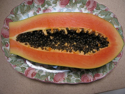 Диета при рефлюксе и папайя