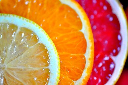 Цитрусовые и тусклая кожа