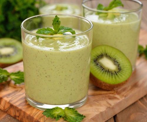 Зеленые коктейли - отличное средство для сжигания жира