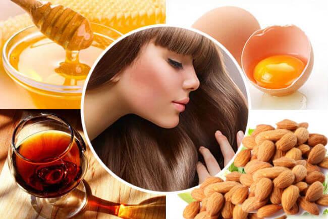 Натуральные средства для ухода за волосами