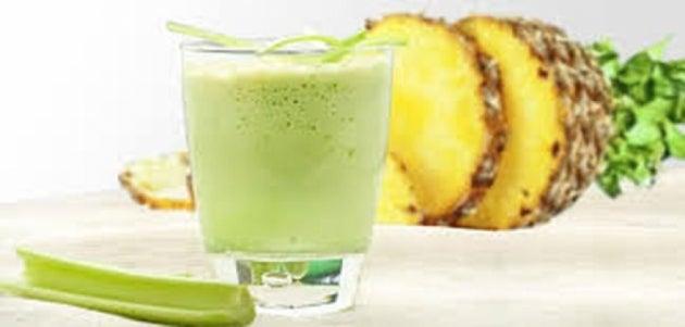 Сельдерей и ананас: коктейль для сжигания жира