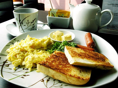 отсутствие завтрака и работа мозга