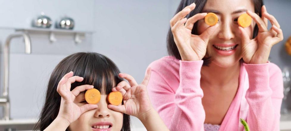 Правильное питание поможет сохранить зрение