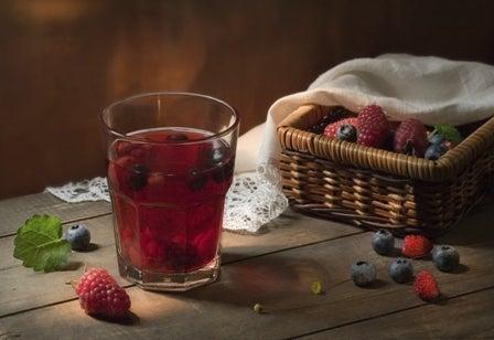 клюквенный сок выведет токсины