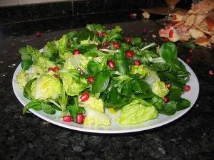 Вегетарианские рецепты салата