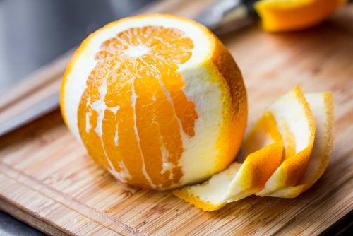 апельсин и уборка дома