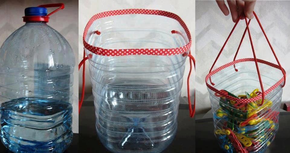 Пластик: вторая жизнь старых бутылок