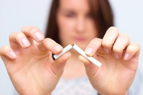 Курение и печень
