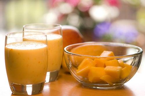 смузи-апельсин