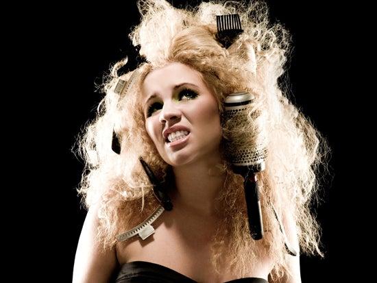 Как быстро привести в порядок спутанные волосы