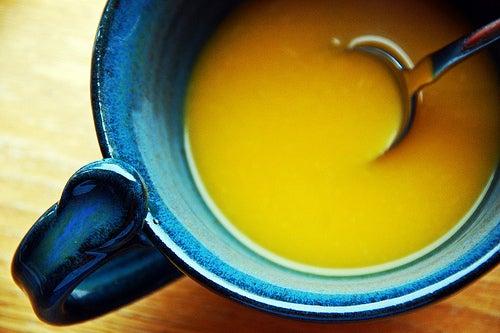 Суп и чувство голода