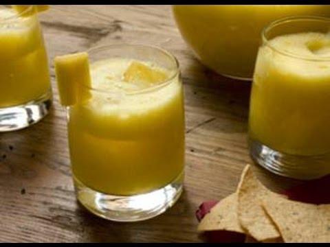 сок ананаса и манго