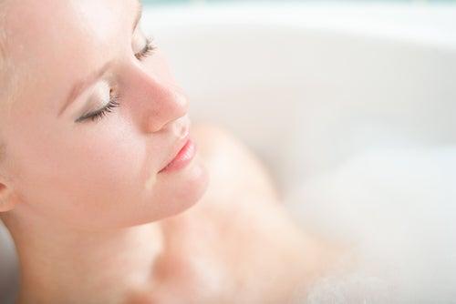 Ванна и холодный душ
