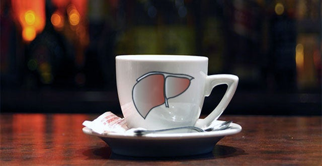 Польза кофе для печени
