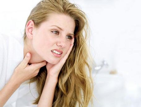 Воспаление пищевода и боль в горле