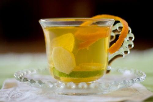 Очистить легкие от слизи с помощью имбиря и лимона