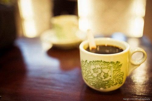 кофе улучшает пищеварение
