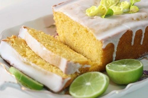 Домашний лимонный пирог - делимся рецептом!