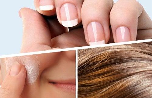 Питание для здоровой кожи, волос и ногтей