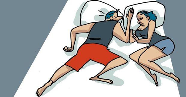 В какой позе вы спите?