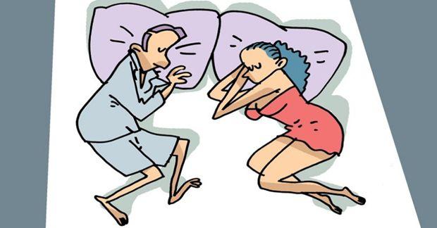 Что поза сна может рассказать о ваших отношениях?