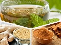 imbir-zeleniy chay-korica