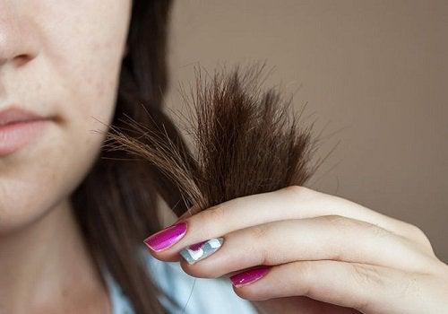 ухоженные волосы без секущихся концов