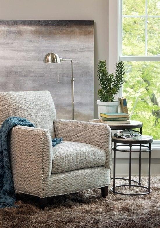 Укромный уголок поможет создать уютную атмосферу в доме