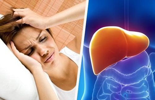 Как головная боль связана с состоянием печени?