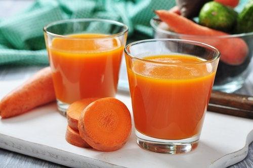 сок моркови и защитные силы организма