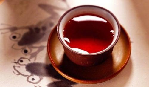 Чай на завтрак чтобы уменьшить живот
