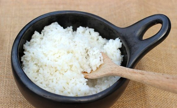 Маска из риса