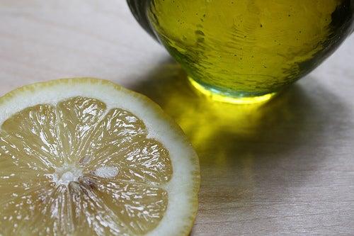 Масло и лимон для печени