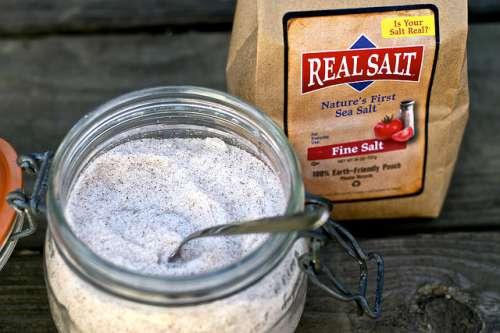 Морская соль при задержке жидкости