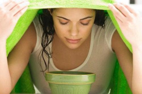 Зеленый чай поможет избавиться от черных точек