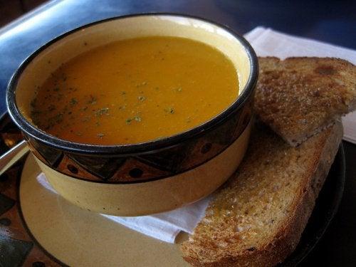 Суп и здоровая печень